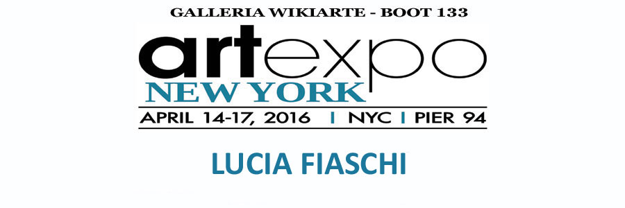 Flyer personale per Artexpo NEW YORK