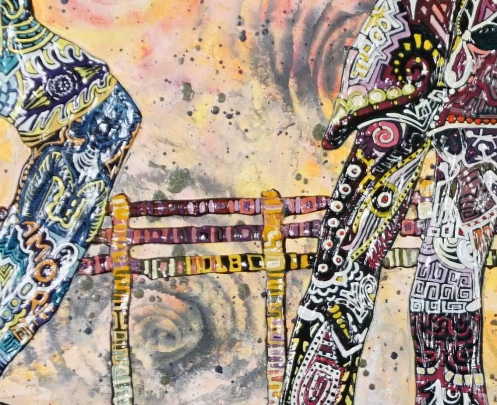 Frammento OMBRA DEL MEZZO AMORE - quadro a NEW YORK