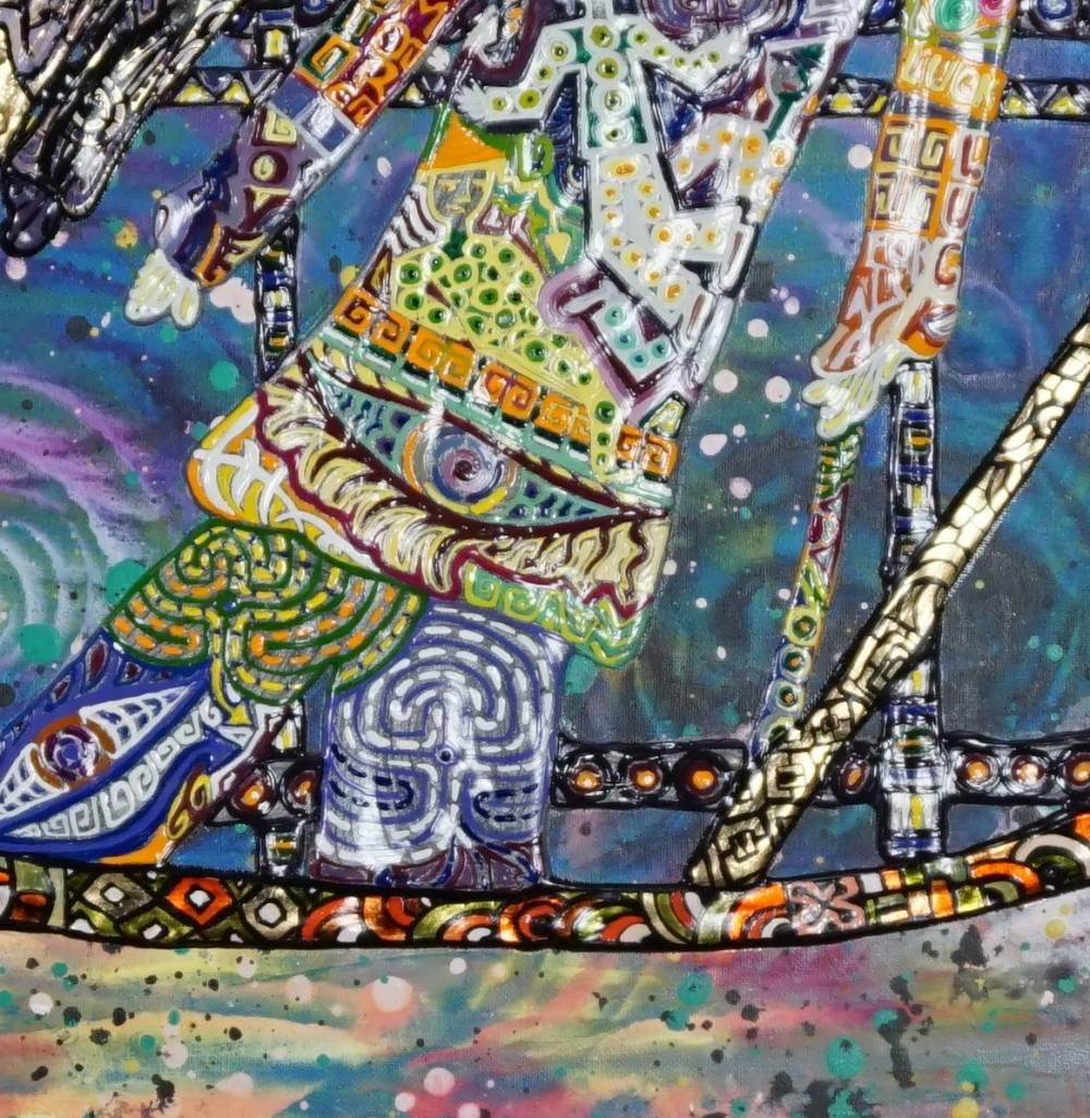 Frammento OMBRE DI PRESENZA - quadro a New York
